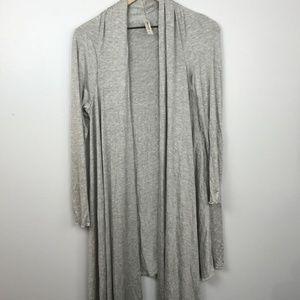 NEW 24/7 Comfort Apparel Long Cardigan Sweater M